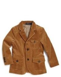 Ralph Lauren Toddlers Little Boys Stretch Corduroy Thompson Sportcoat