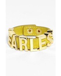 BCBGeneration Fearless Bracelet New Gold Mustard
