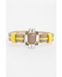 Cara Crystal Embellished Leather Bracelet