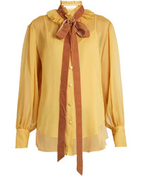 See by Chloe See By Chlo Crinkled Georgette Blouse