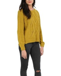 Alice collins cable knit jumper medium 450913