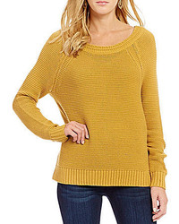Roxy Lost Coastlines Reversible Open Neck Sweater