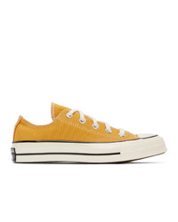 Converse Yellow Chuck 70 Ox Sneakers