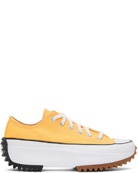 Converse Yellow Run Star Hike Low Sneakers