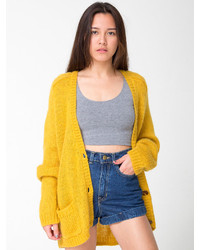 American apparel mohair loose cardigan medium 156018