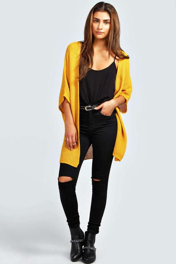 Boohoo Lucy Loose Knit Batwing Cardigan Where To Buy How To Wear