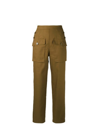 Chloé Sailor Button Cargo Trousers