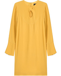 Derek Lam Crepe Dress With Cut Out