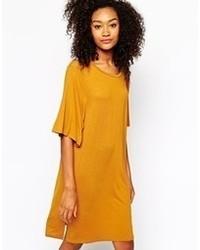 Monki Short Sleeve Swing Dress