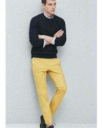 Mango Outlet Slim Fit Cotton Chinos