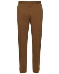 Lanvin Slim Leg Cotton Chino Trousers
