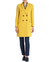 Lafayette 148 New York Culture Crepe Gianna Peacoat
