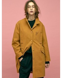 Prank Canvas Coat Mustard