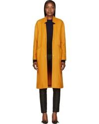Roseanna Mustard Oversized Wool Margot Coat