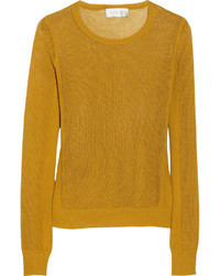 Mustard crew neck sweater original 4323189