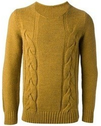 Cable knit sweater medium 59062