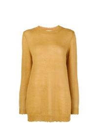 Distressed elongated jumper medium 8444509
