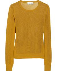 A.L.C. Emilia Open Knit Cotton Sweater