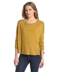 O'Leary Margaret Curved Rib Pullover Sweater