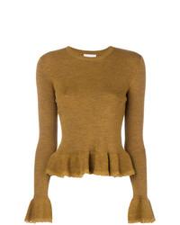 See by chlo peplum knit jumper medium 8399732
