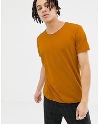 Weekday Alan T Shirt In Orange