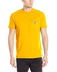 Carhartt Force Cotton Short Sleeve T Shirt Relaxed Fit
