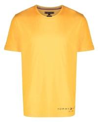 Tommy Hilfiger Logo Print Cotton T Shirt