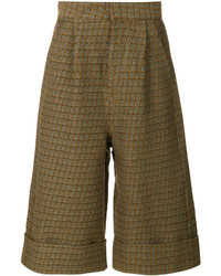 MM6 MAISON MARGIELA Wide Legged Cropped Trousers