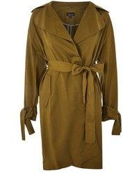 Topshop Tencel Duster Coat
