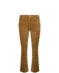 Mustard Flare Jeans