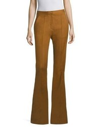 Diane von Furstenberg Pleated Flared Pants