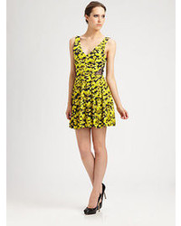 Erin Fetherston Erin By Floral Dress