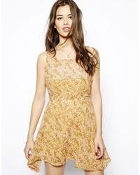 Glamorous Floral Swing Dress