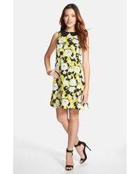 Kensie Layered Floral Dress