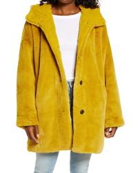 UGG Nori Oversize Faux Fur Coat