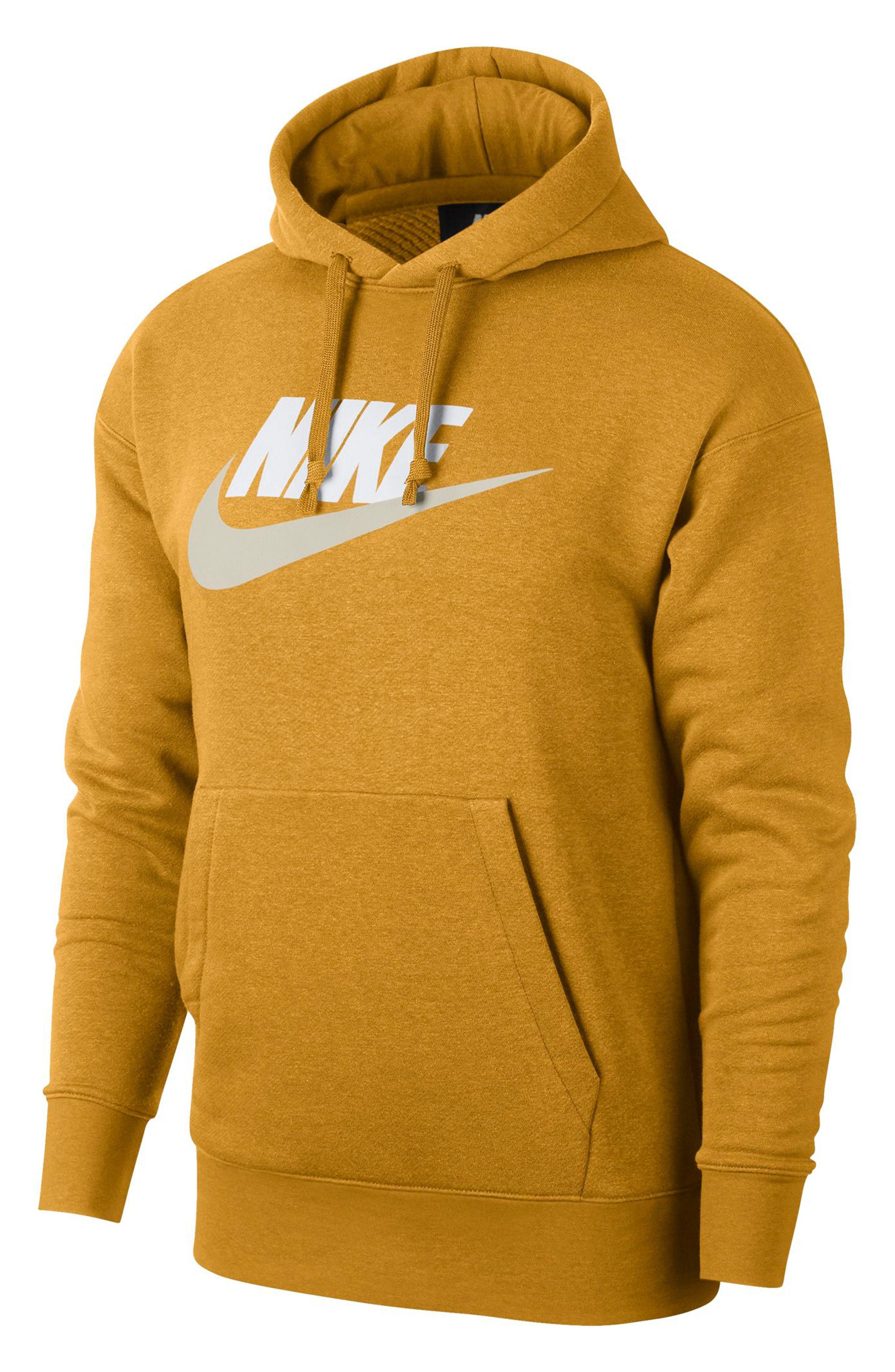 mustard yellow nike sweatshirt
