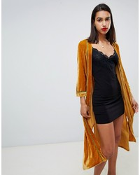 8a47783ac Mustard Kimonos for Women | Women's Fashion | Lookastic.com