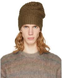Stella McCartney Brown Knit Beanie
