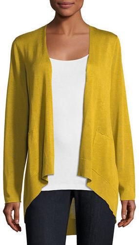 77ba0b1bc90 Eileen Fisher Long Slouchy Sleek Knit Cardigan, $238 | Neiman Marcus ...