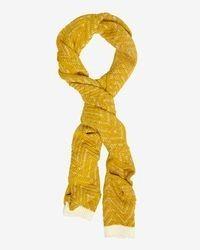 Chevron knit scarf medium 107876