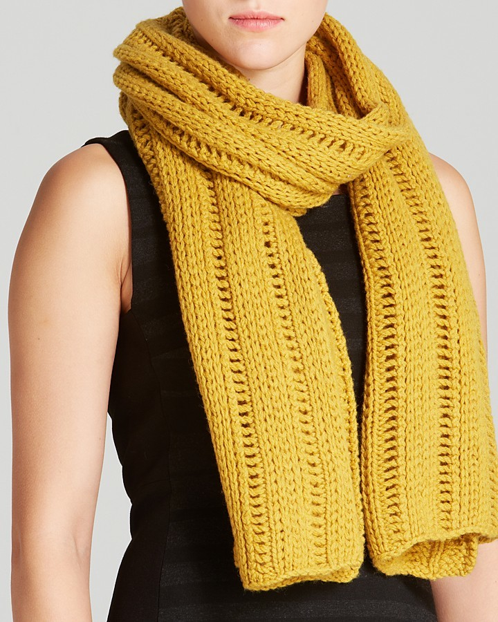 Eileen Fisher Open Knit Scarf Where To Buy How To Wear
