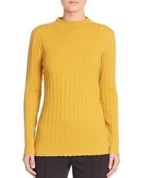 Mustard Knit Turtleneck