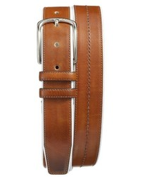 Mezlan Palmatalco Leather Belt