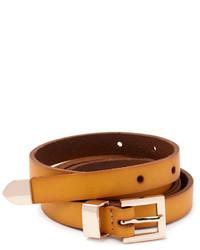 Forever 21 Skinny Leather Belt