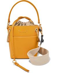 Chloé Roy Mini Leather Bucket Bag