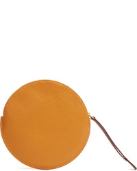 Roksanda Round Grained Leather Pouch