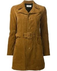 Saint Laurent 70s Short Belted Coat
