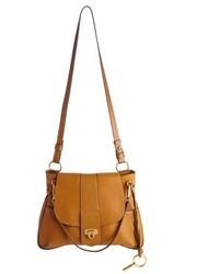 Chloé Chloe Medium Lexa Leather Shoulder Bag Blue