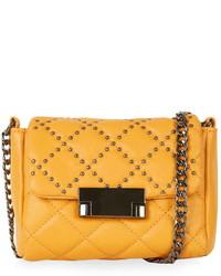 Topshop Pin Stud Crossbody Bag