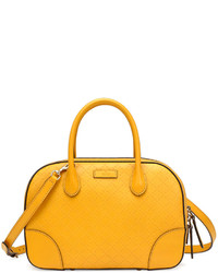 Gucci Bright Diamante Small Leather Bag Yellow